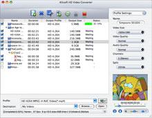 Xilisoft HD Video Converter for Mac Screenshot 1