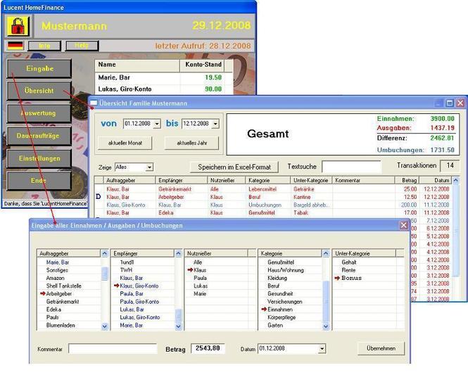 LucentHomeFinance Screenshot 1