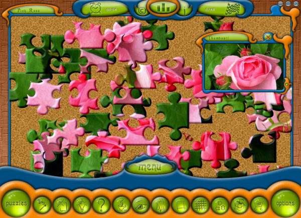 Cute Jigsaw Puzzle Screenshot
