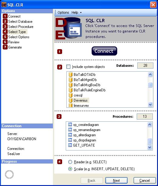 SQL.CLR Screenshot