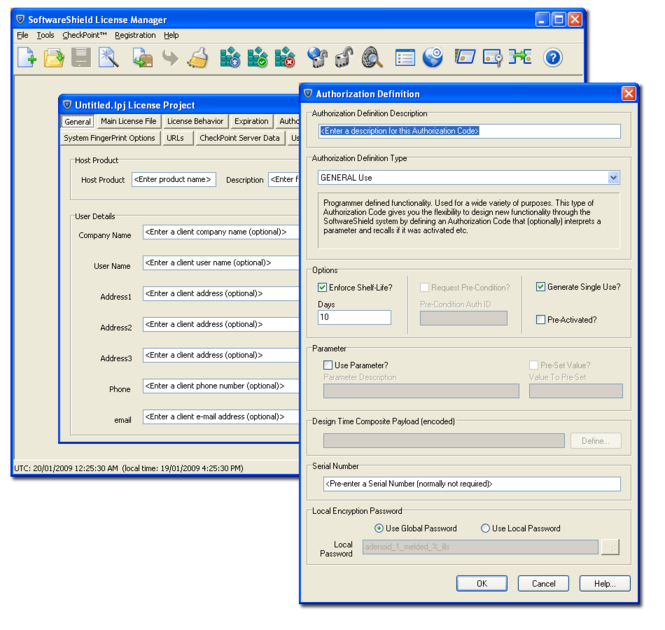 SoftwareShield Screenshot