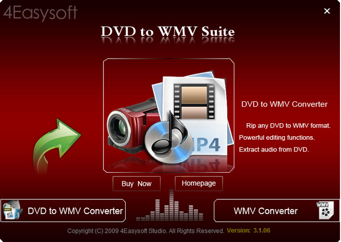 4Easysoft DVD to WMV Suite Screenshot 1