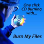 Burn My Files CD/DVD burning software 1