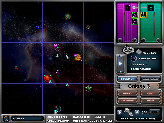 Space War Commander Screenshot