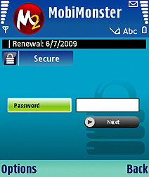 MobiMonster Secure Space (Mobile Wallet) Screenshot 1
