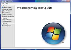 Vista TuneUpSuite Screenshot 1