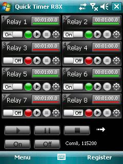 Quick Timer R8X PPC Screenshot 1