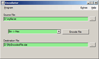 Encodiator Screenshot
