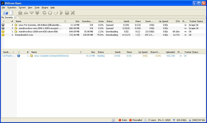 BitDrom Screenshot