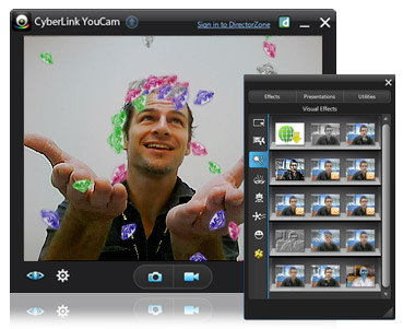 CyberLink YouCam + PerfectCam Screenshot