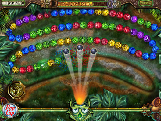 Zuma's Revenge! Screenshot 3