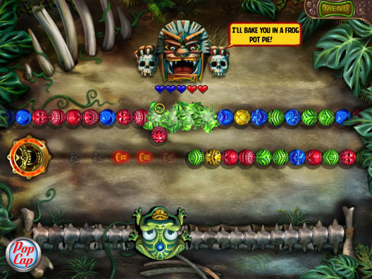 Zuma's Revenge! Screenshot 1