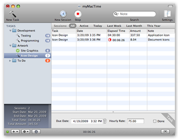 myMacTime Screenshot