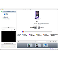 Xilisoft iPod Magic for Mac Screenshot 1