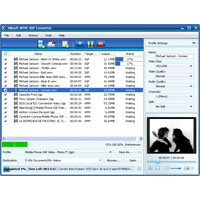Xilisoft WMV 3GP Converter Screenshot