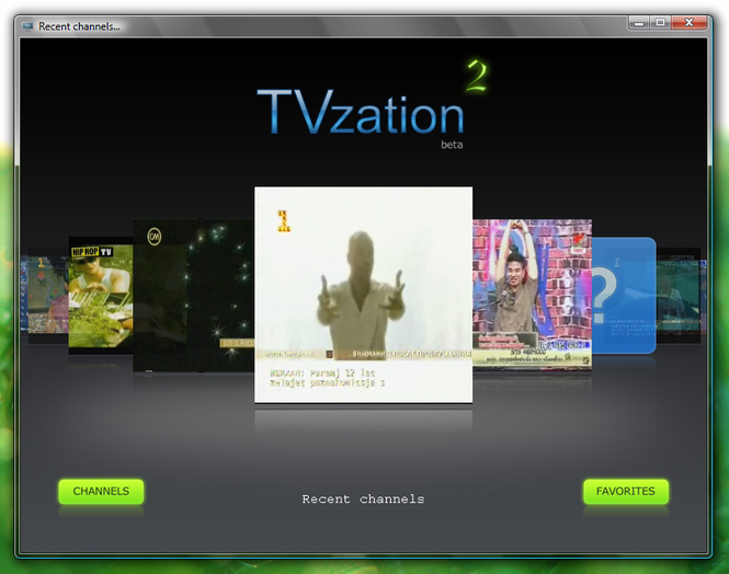 TVzation Screenshot 1