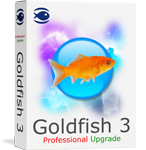 Goldfish 3 Professional Upgrade Screenshot