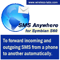 SMS Anywhere Ultra Edition for S60 & Symbian7 Screenshot 1