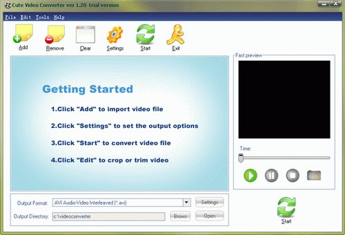 Cute Video Converter Screenshot
