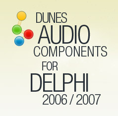 Dunes Audio Conversion Components for Delphi Screenshot 1