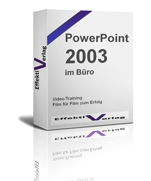 PowerPoint 2003, Videotraining Screenshot