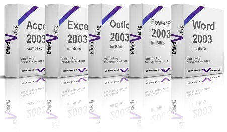Office 2003 Bundle, 5 x Videotraining Screenshot 1