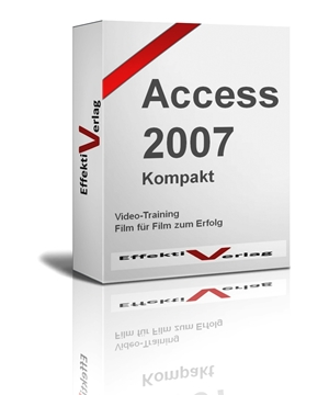 Access 2007, Videotraining Screenshot