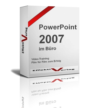 PowerPoint 2007, Videotraining Screenshot