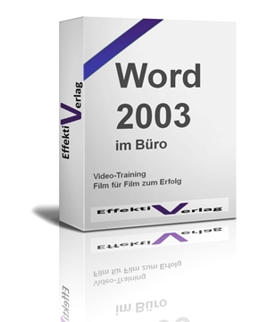 Word 2003, Videotraining Screenshot