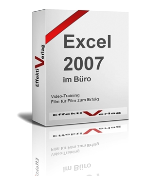 Excel 2007, Videotraining Screenshot