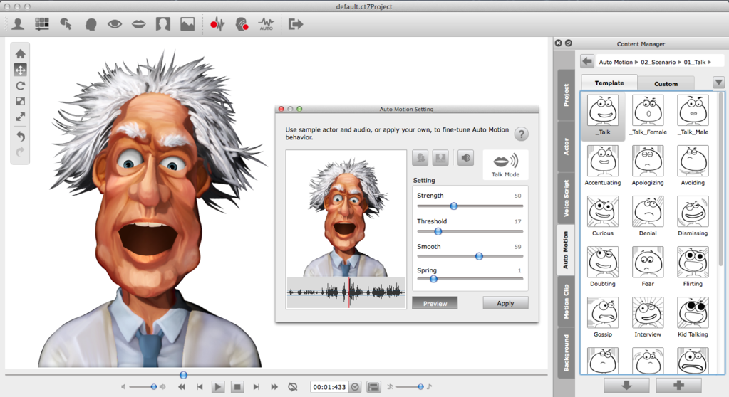 CrazyTalk PRO Screenshot 2