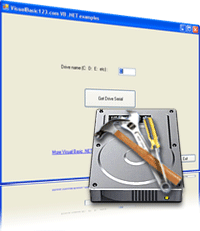 Get hard disk serial number in Visual C Sharp Screenshot