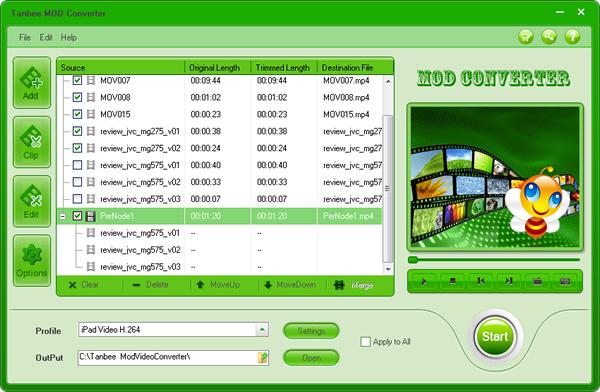 Tanbee MOD Converter Screenshot