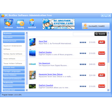 PC Brother Software Administration Screenshot