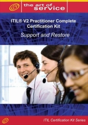ITIL V2 Support and Restore (IPSR) Full Certification Online Learning and Study Book Course Screenshot