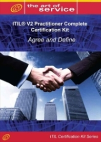 ITIL V2 Agree and Define (IPAD) Full Certification Online Learning and Study Book Course Screenshot