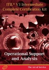ITIL V3 Operational Support and Analysis (OSA) Full Certification Online Learning and Study Book Cours Screenshot