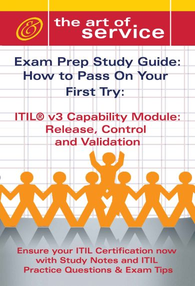 ITIL V3 Service Capability RCV Certification Exam Preparation Course in a Book for Passing the ITIL V3 Screenshot