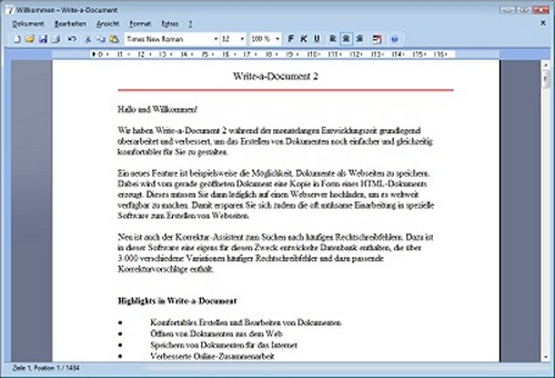 Write-a-Document 3 Screenshot