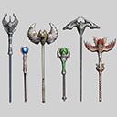 Fantasy RPG Staff Weapons Screenshot
