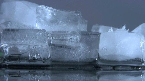 Der JMMG Eiswürfel-Bildschirmschoner Screenshot