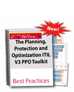 The Planning, Protection and Optimization ITIL v3 PPO Toolkit Screenshot