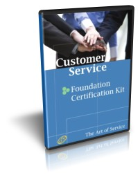 Customer Service Foundation Level Full Certification Kit - Complete Skills, Training, and Support Step Screenshot