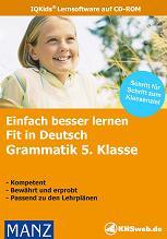 Fit in Deutsch: Grammatik 5. Klasse (CD-ROM) Screenshot 1