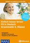 Fit in Deutsch: Grammatik 5. Klasse (CD-ROM) 1
