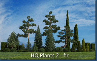 HQ Plants 2 - fir trees Screenshot
