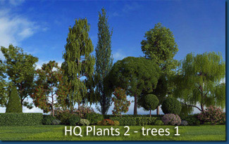 HQ Plants 1 - trees pack 1 Screenshot 1
