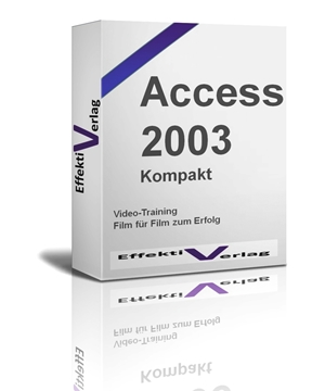 Access 2003, Videotraining Screenshot