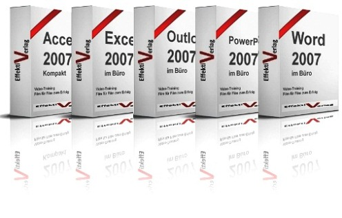 Office 2007 Bundle, 4 x Videotraining Screenshot
