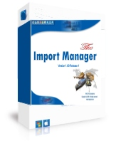 The Import Manager Screenshot